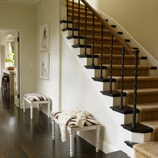 Traditional Staircase by Benjamin Dhong Interiors