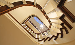 Pacific Heights Home Staircase