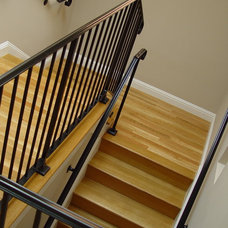 Traditional Staircase by Mike Connell
