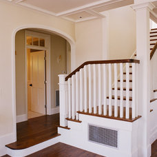 Craftsman Staircase by Tim Barber LTD Architecture & Interior Design