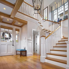 Traditional Staircase by Patterson Custom Homes