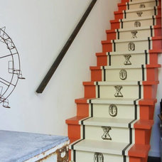 Eclectic Staircase by Shannon Kaye