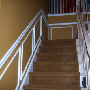 Inspiration for a staircase remodel in Philadelphia