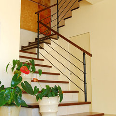 "contemporary staircase by ""Paissin"""