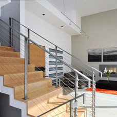 Contemporary Staircase by Maydan Architects, Inc.