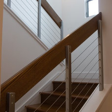 Contemporary Staircase by Fiorella Design