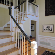 Traditional Staircase by Pamela Foster & Associates, Inc.