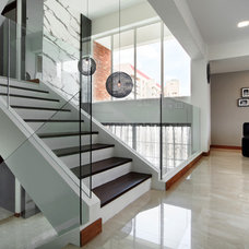 Contemporary Staircase by The Interior Place (S) Pte Ltd