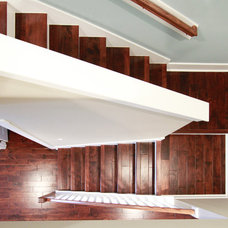 Beach Style Staircase by Glenn Layton Homes
