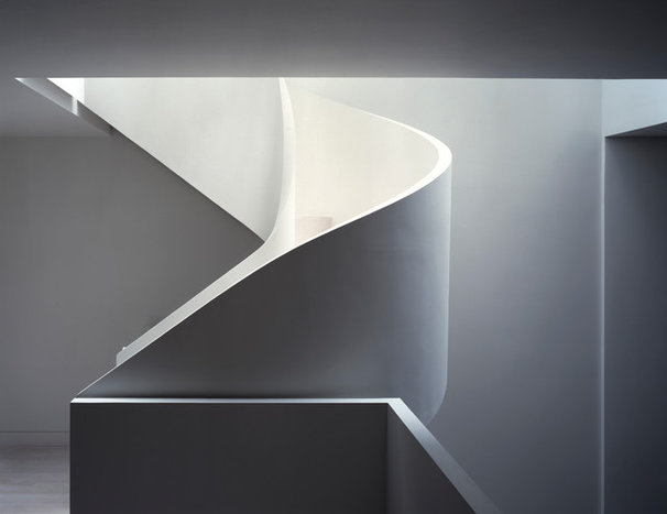 Modern Staircase by David Hotson Architect
