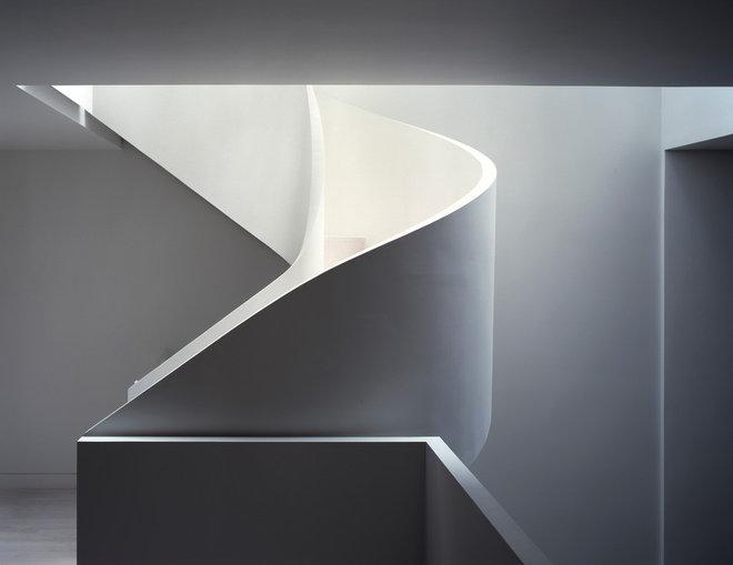 Modern Staircase by David Hotson Architect