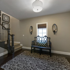 Traditional Staircase by Lowery Design Group