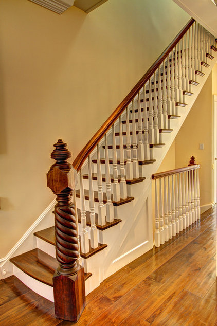 Traditional Staircase by Ben Herzog