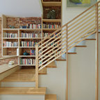 New Front Staircase Craftsman Staircase San