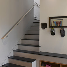 Contemporary Staircase by Ken Gutmaker Architectural Photography