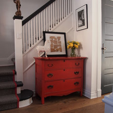 Traditional Staircase by Delo Interiors Inc.