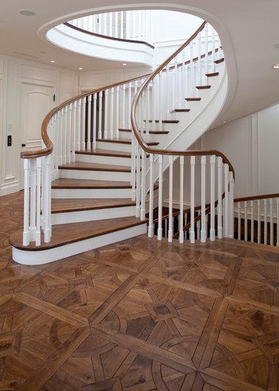Klassisch Treppen by Gaetano Hardwood Floors, Inc.