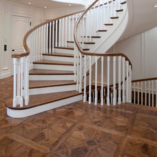 Traditional Staircase by Gaetano Hardwood Floors, Inc.