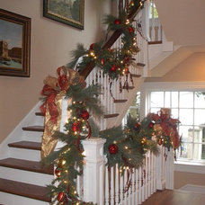 Traditional Staircase by Perkins Design Group