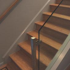 Contemporary Staircase by Zack|de Vito Architecture + Construction