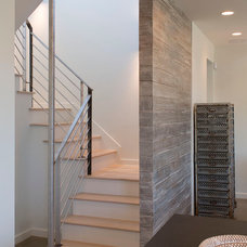 Contemporary Staircase by Jay Corder, Architect