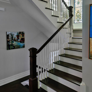 Design ideas for a victorian staircase in New York.