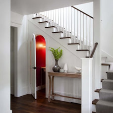 Traditional Staircase by Tim Cuppett Architects