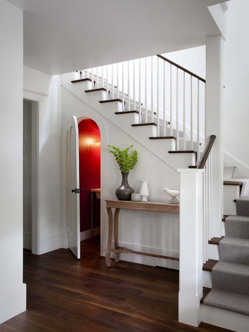 Under stairs bathroom home design ideas pictures remodel and decor