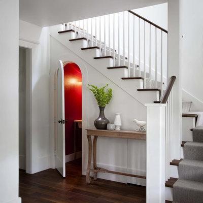 Elegant staircase photo in Austin