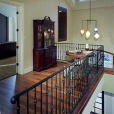 Traditional Staircase by David Manning Architecture