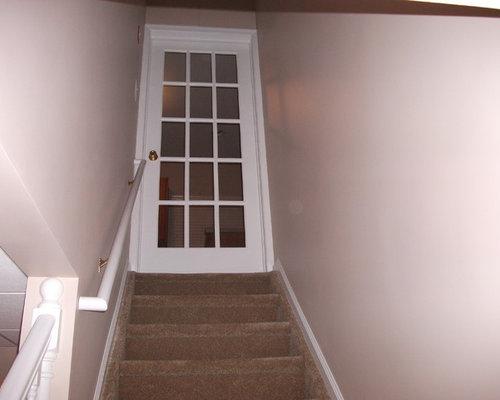 Lighting Basement Washroom Stairs: Best Basement Doors Design Ideas & Remodel Pictures