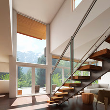 Modern Staircase by Shelter