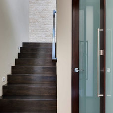 Beach Style Staircase by Christiano Homes, Inc.