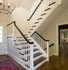 staircase by Dewson Construction Company