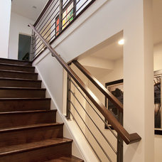 Contemporary Staircase by Marvin Jensen @ Windermere Real Estate