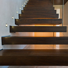 Modern Staircase by MORE design+build