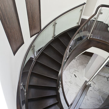 pepper stair viewed from above