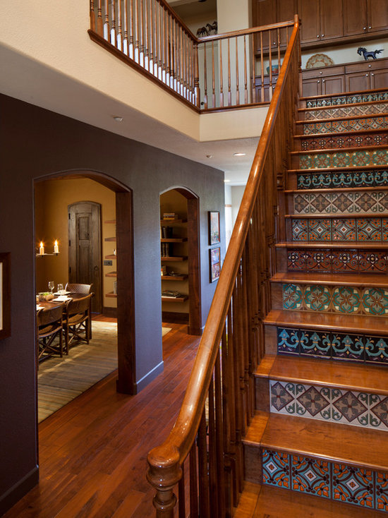 Wood Tile Staircase - Wood Tile Staircase Houzz