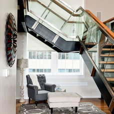 Contemporary Staircase by Amanda Alligood