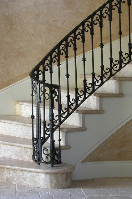 Mediterranean Staircase by PK Architecture; Phillip Kudelka