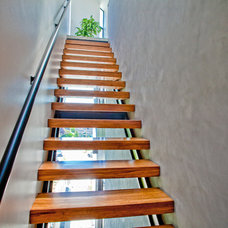 Contemporary Staircase by Stephenson Design Collective