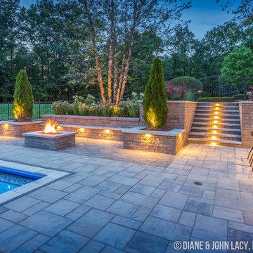 Photography: Hardscape Pool, Deck, Grill, Patio for DecraScape