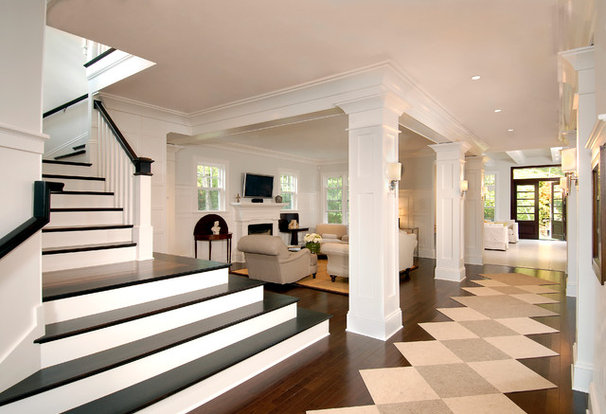 Traditional Staircase by Horgan Millwork, Inc.