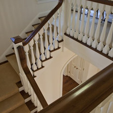 Traditional Staircase by Matarozzi Pelsinger Builders