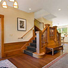 Traditional Staircase by Wm. F. Holland/Architect