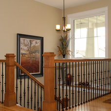 Craftsman Staircase by Vision Homes & Remodeling