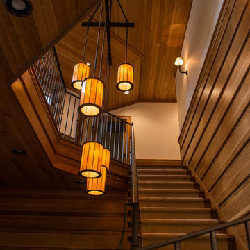 Piseco Lake Camp - Stairwell
