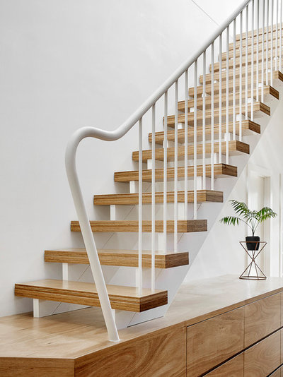 Contemporary Staircase by Guild Architects