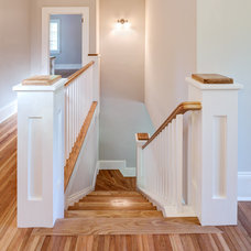 Craftsman Staircase by stirling group inc