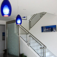 Contemporary Staircase by David Rance Interiors